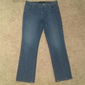 Calvin Klein low-rise bootcut jeans size 12